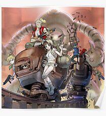 Metal Machine Poster