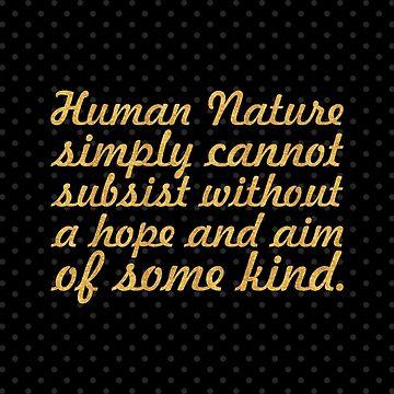 "Human nature... ""Gilbert K. Chesterton"" Inspirational Quote by Powerofwordss"