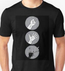 Rock, Paper, Scissor....hands Unisex T-Shirt
