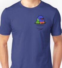 Zu viele Vögel! - Regenbogen-Lorikeet Slim Fit T-Shirt