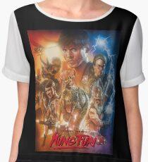 Kung Fury Fiction Film  Chiffon Top