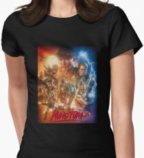 Kung Fury Fiction Film  Womens Fitted T-Shirt
