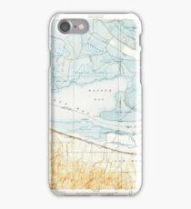 USGS TOPO Map California CA Honker Bay 296169 1918 31680 geo iPhone Case/Skin
