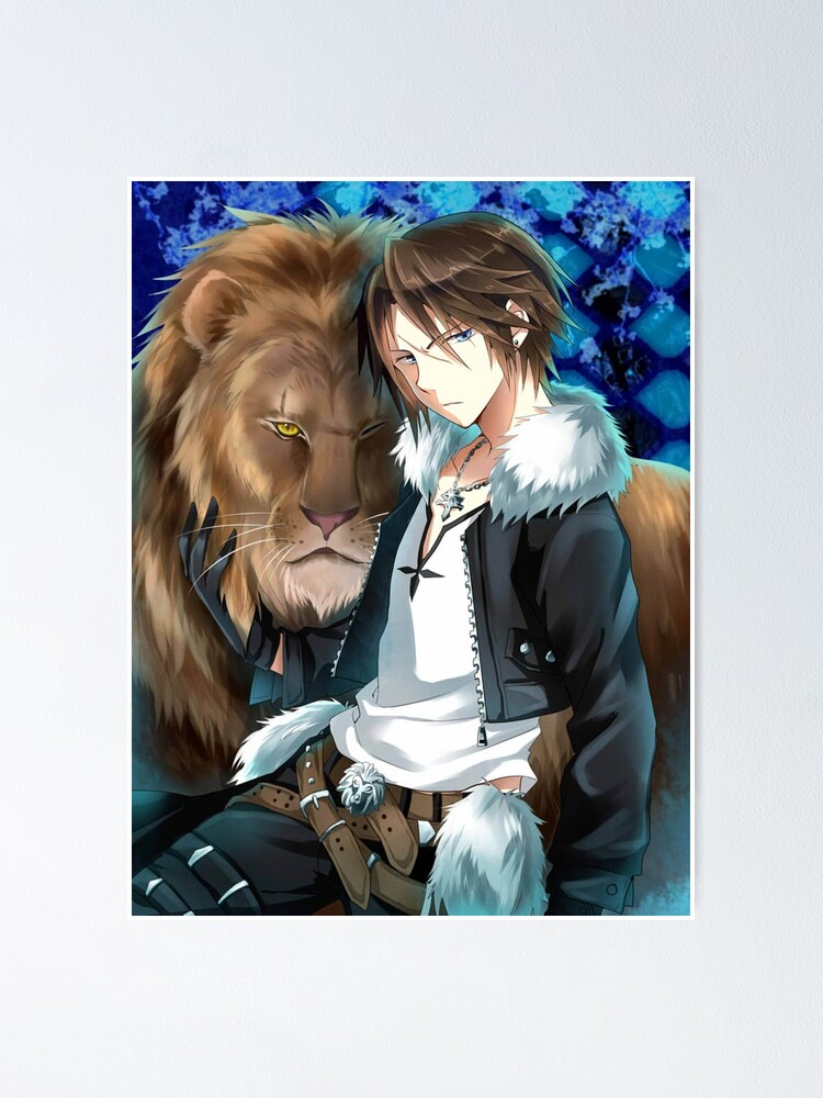 Squall Leonhart Poster