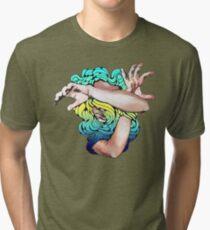 Wallflower (Social Disease Original) Tri-blend T-Shirt