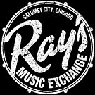 Ray's Music Exchange - White by axemangraphics