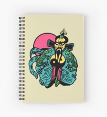 J B Spiral Notebook
