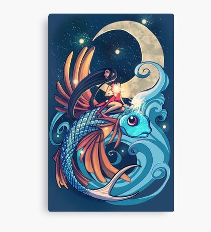 Festival of the Flying Fish Canvas Print