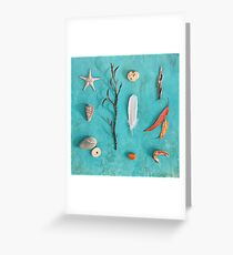 Sea, Land & Sky Greeting Card
