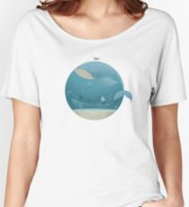 Whale & Jellyfish Women's Relaxed Fit T-Shirt