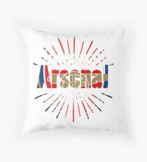 arsenal art Throw Pillow