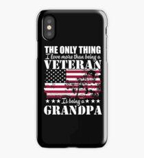 Veteran Grandpa iPhone Case/Skin