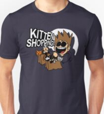 EDDSWORLD KITTEN SHOPPING Unisex T-Shirt