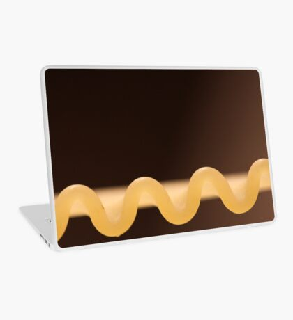 Curly Fettucini Pasta Laptop Skin