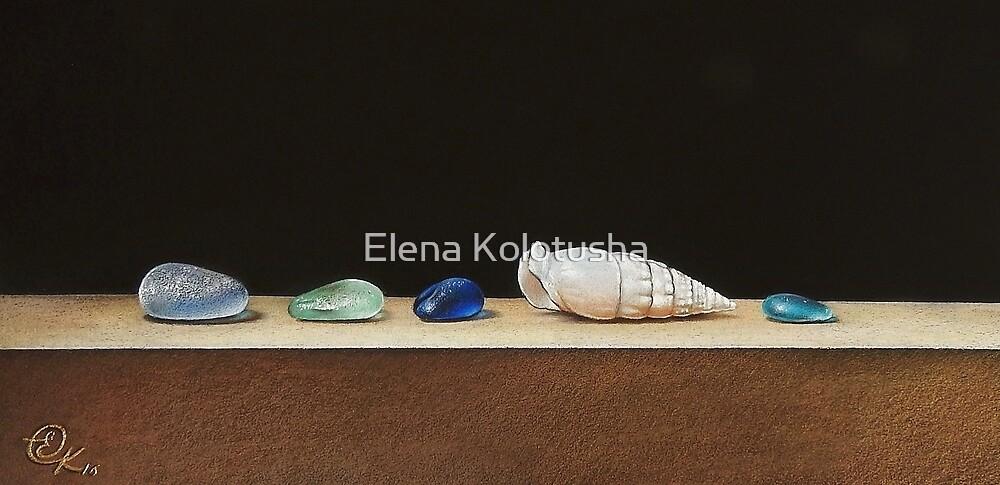 Bits & pieces by Elena Kolotusha