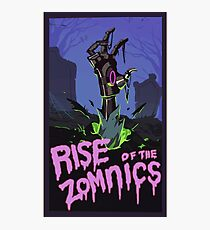 Rise of the zomnic Photographic Print
