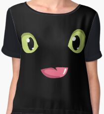 Toothless (How to Train Your Dragon) T-Shirt Chiffon Top