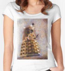 Dalek Flies! Women's Fitted Scoop T-Shirt