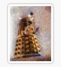 Dalek Flies! Sticker