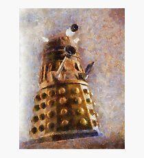 Dalek Flies! Photographic Print