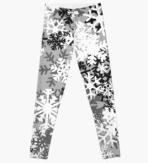 Snowflake Camo Leggings