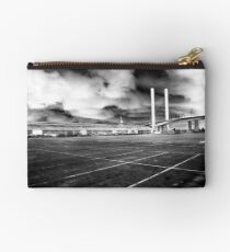 Storm over Shed 21 Studio Pouch