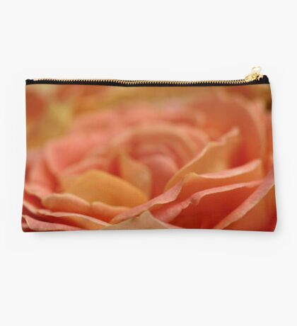 Peach rose Studio Pouch