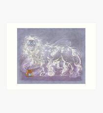 Hearth Beast Art Print