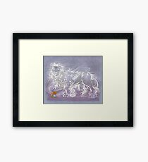 Hearth Beast Framed Print