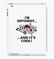 Different is Cool iPad Case/Skin