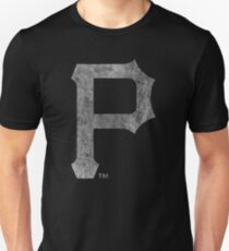 °BASEBALL° Pittsburgh Pirates B&W Logo T-Shirt