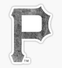°BASEBALL° Pittsburgh Pirates B&W Logo Sticker