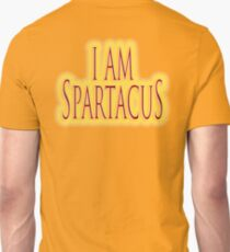SPARTACUS, I am Spartacus! No I am Spartacus! Blood & Sand, Gladiators, Coliseum, Combat, Death T-Shirt