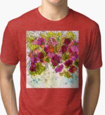 Dog-Rose. Autumn. Tri-blend T-Shirt