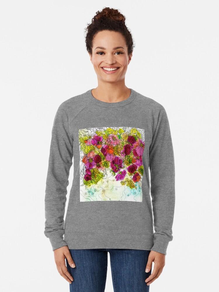 Alternate view of Dog-Rose. Autumn. Lightweight Sweatshirt