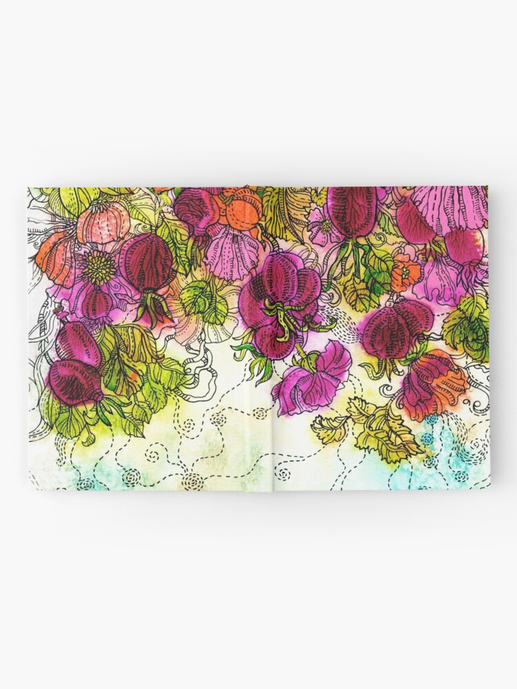 Alternate view of Dog-Rose. Autumn. Hardcover Journal