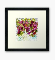 Dog-Rose. Autumn. Framed Print