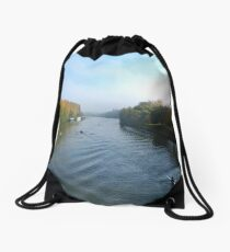 Water Boatmen of the River Oise Drawstring Bag