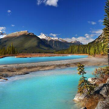 Mount Saskatchewan by JohnPoon
