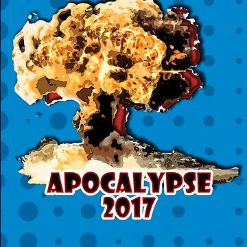 Apocalypse 2017 with Blue Background by jammin-deen