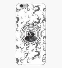 Anonymous Revolution iPhone Case