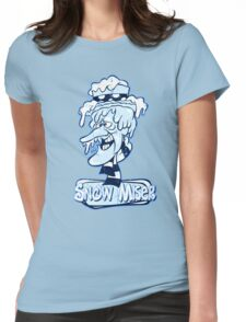 Snow Miser Womens Fitted T-Shirt