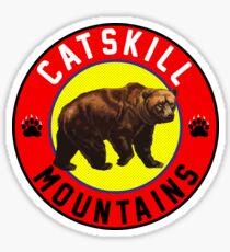 CATSKILL MOUNTAINS NEW YORK MOUNTAIN BEAR CATSKILLS HIKING BIKING CLIMBING Sticker