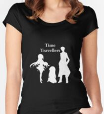 Time Travellers (White Edition) Women's Fitted Scoop T-Shirt