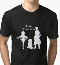 Time Travellers (White Edition) Tri-blend T-Shirt