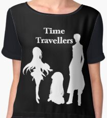 Time Travellers (White Edition) Women's Chiffon Top
