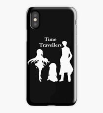 Time Travellers (White Edition) iPhone Case