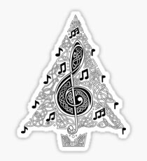 Musical Tree Sticker