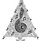 Musical Tree by Rose Gerard