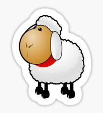 SLEEP, Sheep, Cartoon, Counting Sheep, FUN, FUNNY, COMIC, JOKE, LAUGH, Sticker
